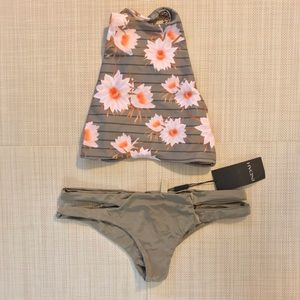 Acacia Top and Indah bottom bikini set size:XS